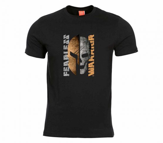 Camiseta Pentagon Fearless Warrior Negro