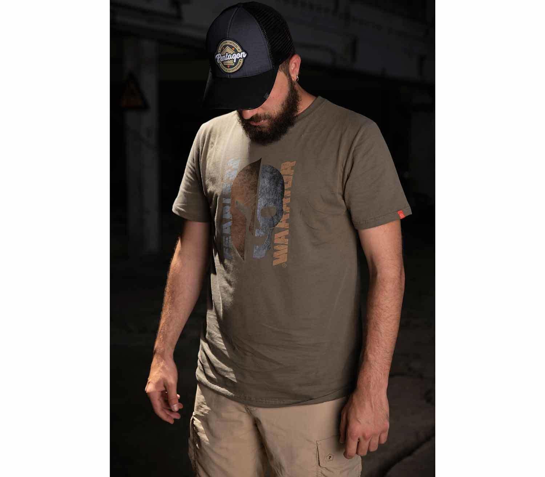 Camiseta Pentagon Fearless Warrior exterior