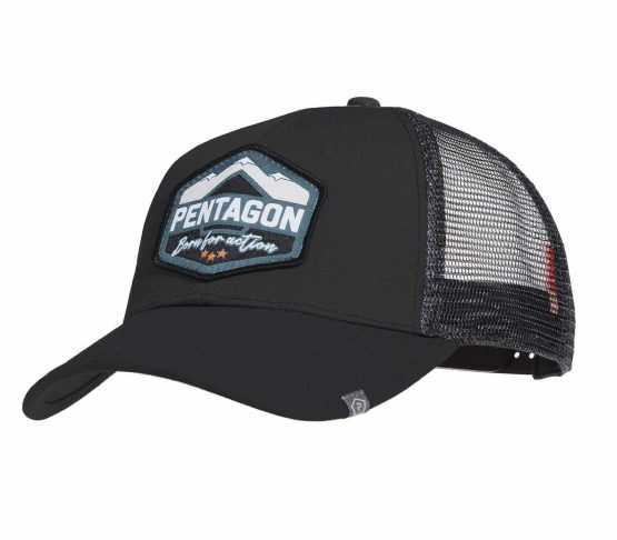Gorra Pentagon Era Born for Action Negro