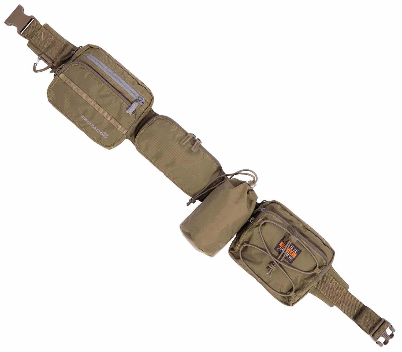Cinturón de Equipo Pentagon Alissos coyote