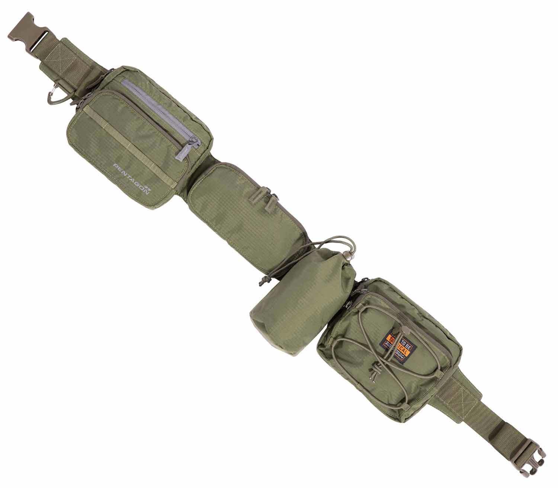 Cinturón de Equipo Pentagon Alissos oliva