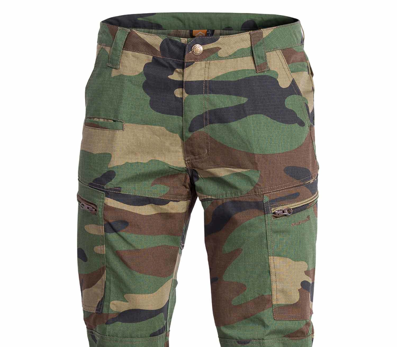 Pantalones Pentagon Ypero Camo detalle