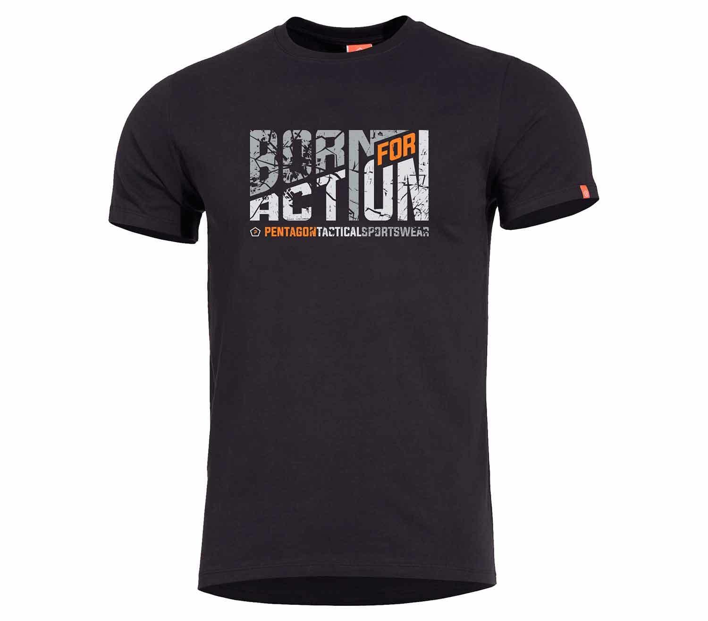 Camiseta Pentagon Born for Action principal