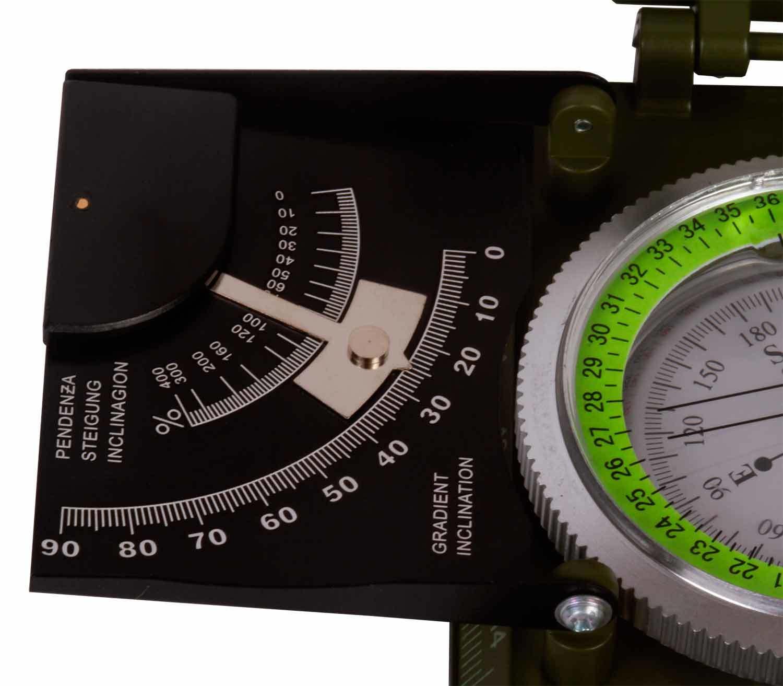 Brújula Levenhuk Army AC20 gradiente