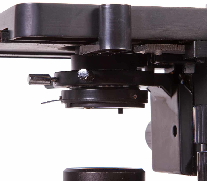 Microscopio Binocular Levenhuk 720B inferior platina