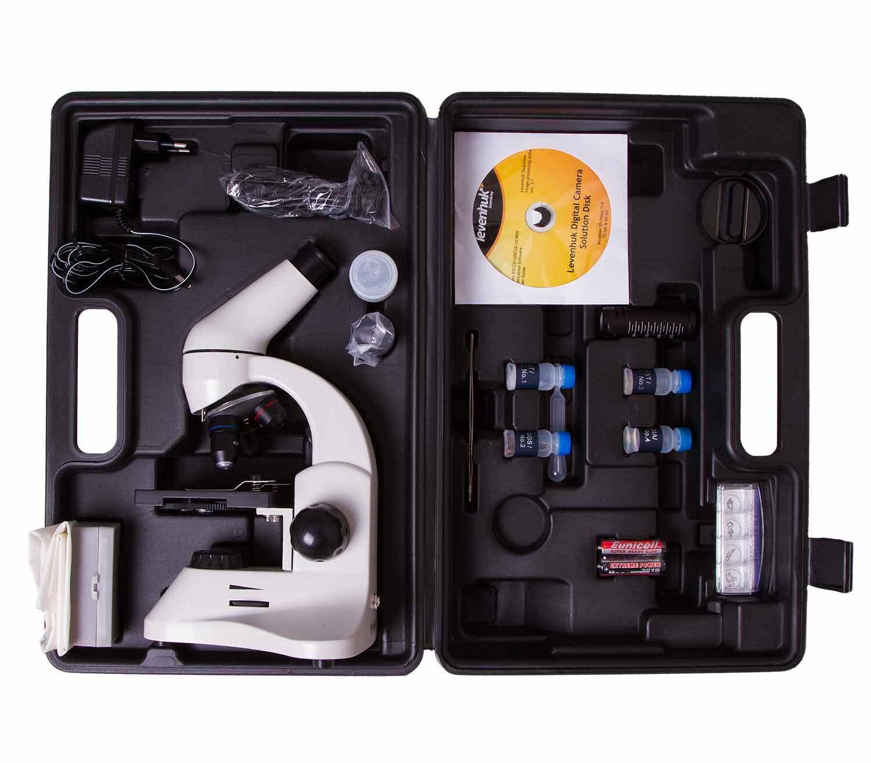 Microscopio Digital Levenhuk Rainbow D50L PLUS 2M maletín