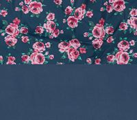 Patron Azul Floral 01