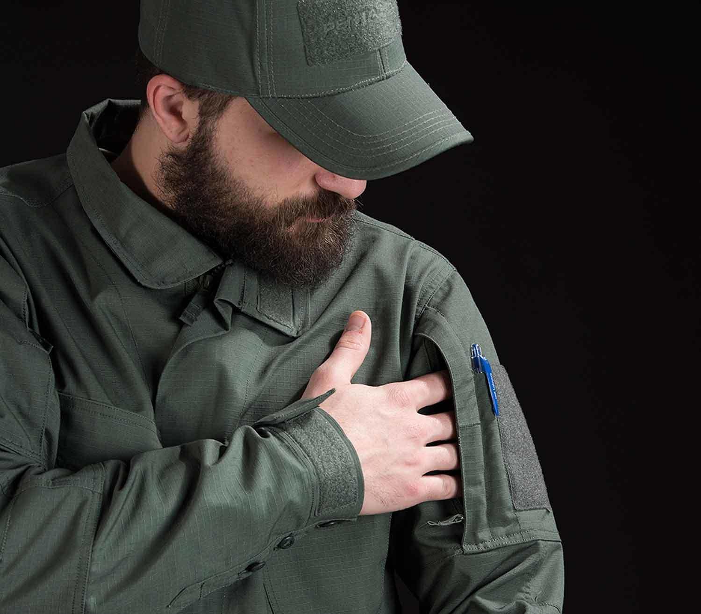 Chaqueta Táctica Pentagon Lycos bolsillo
