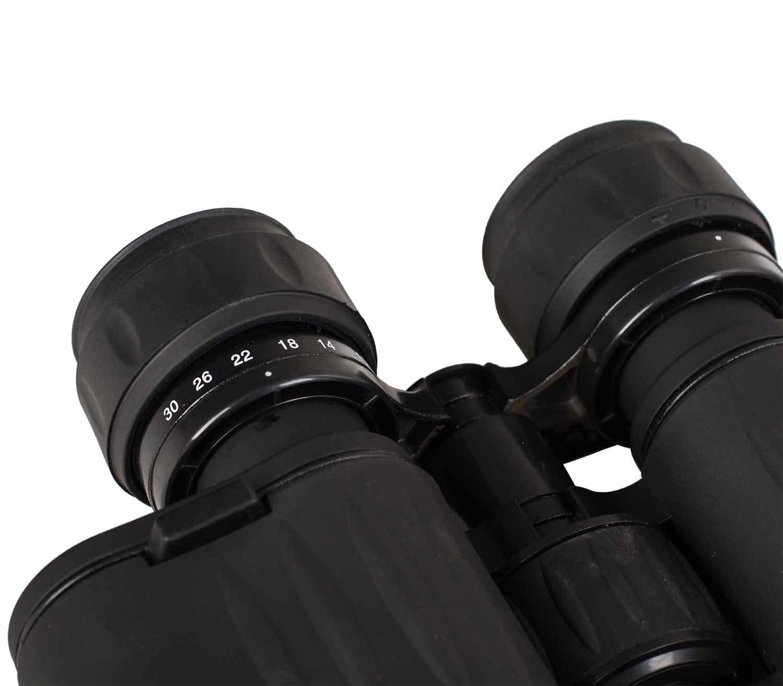 Prismáticos Levenhuk Atom 10-30x50 oculares