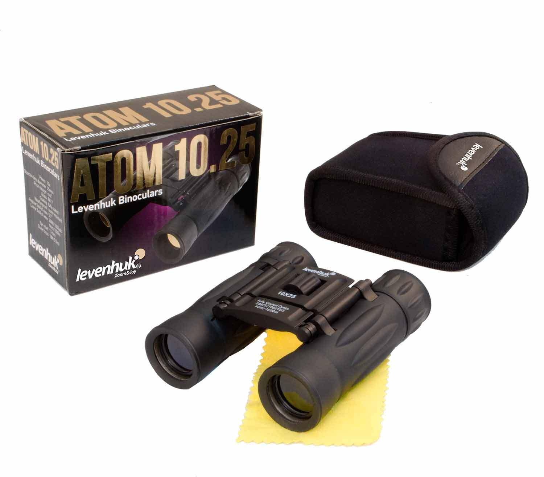 Prismáticos Levenhuk Atom 10x25 caja