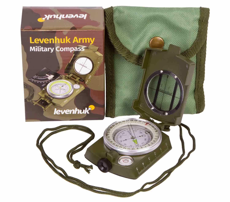 Brújula Levenhuk Army AC10 caja