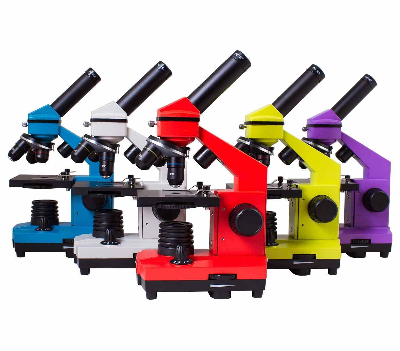 Microscopio Levenhuk Rainbow 2L PLUS colores