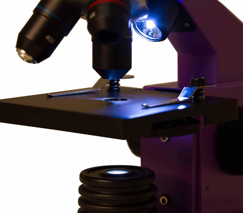 Microscopio Levenhuk Rainbow 2L PLUS luz