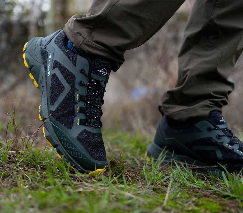 Zapatillas de Trekking Pentagon Kion exterior esmeralda