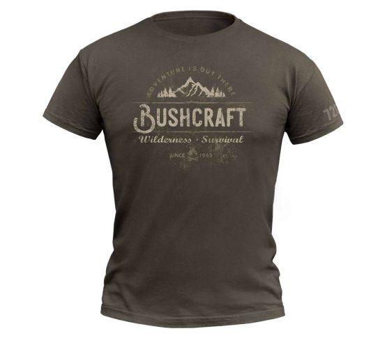 Camiseta 720gear Bushcraft Wilderness Survival principal