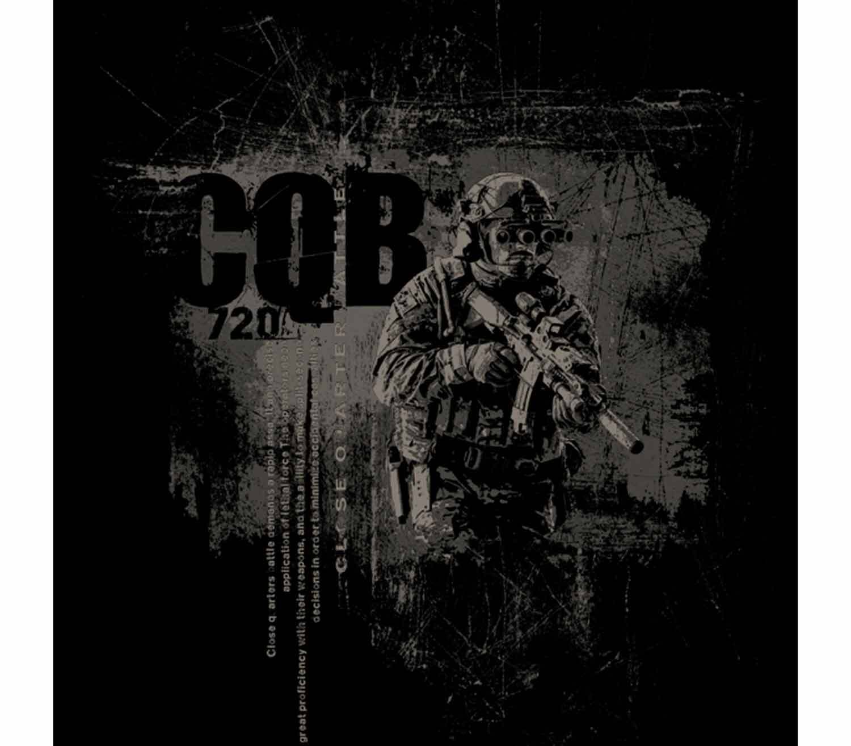 Camiseta 720gear CQB logo