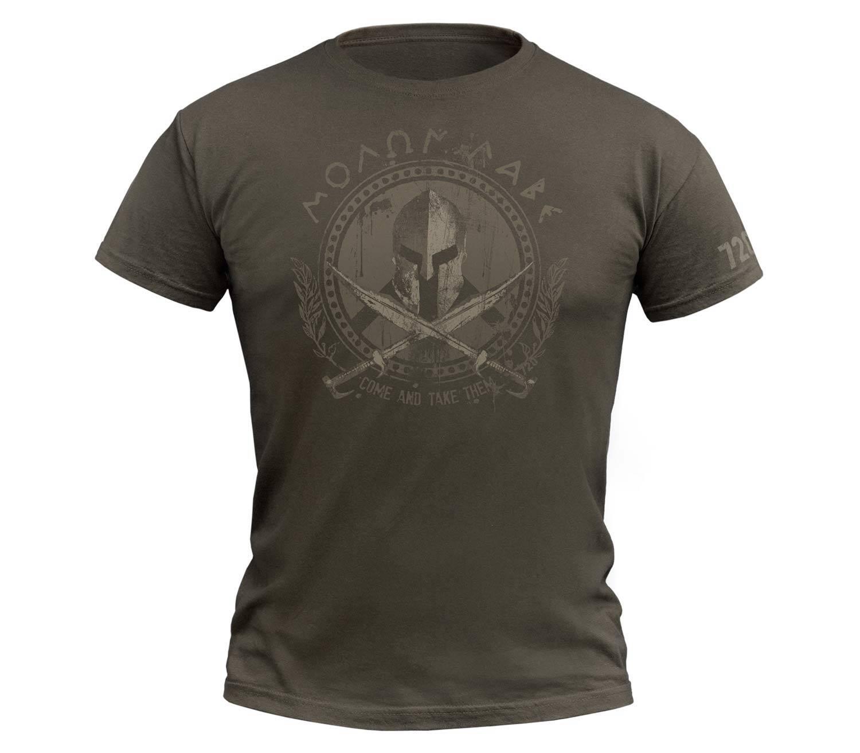 Camiseta 720gear Molon Labe Army