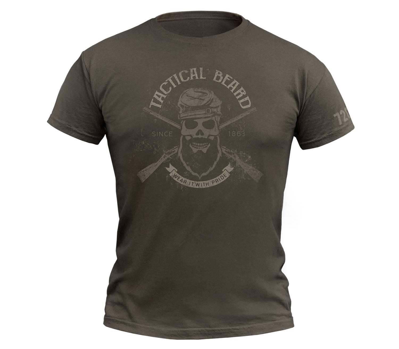 Camiseta 720gear Tactical Beard Army