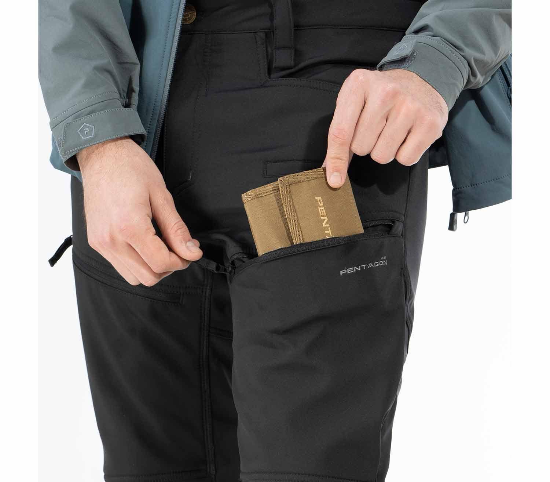 Pantalones Pentagon Renegade Taiga bolsillo
