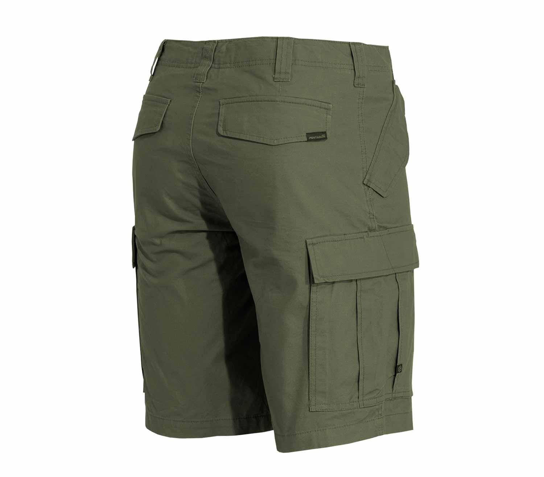 Pantalones Pentagon M65 2.0 Cortos trasera