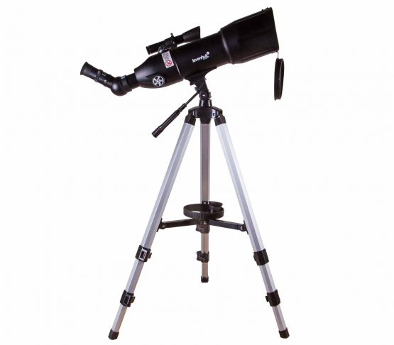 Telescopio Levenhuk Skyline Travel 80 lateral