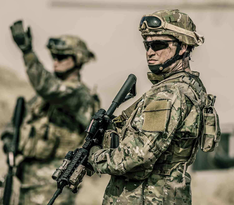 Gafas Wiley X Vapor 2.5 militar exterior
