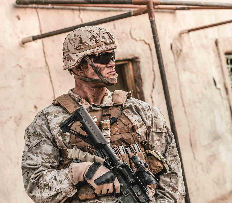 Gafas Wiley X Vapor 2.5 militar