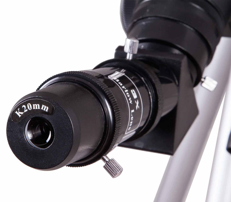 Telescopio Levenhuk Skyline Travel Sun 70 ocular