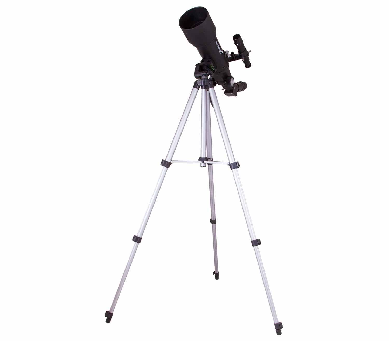 Telescopio Levenhuk Skyline Travel Sun 70 trípode