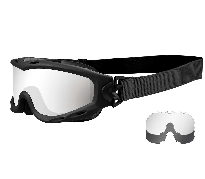 Gafas-de-Protección-Wiley-X-Spear-Negro-Op1
