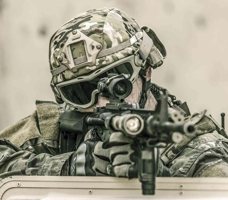 Gafas de Protección Wiley X Spear bronce frontal