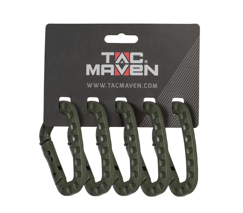 Mosquetón Universal Pack5 Tac Maven pack