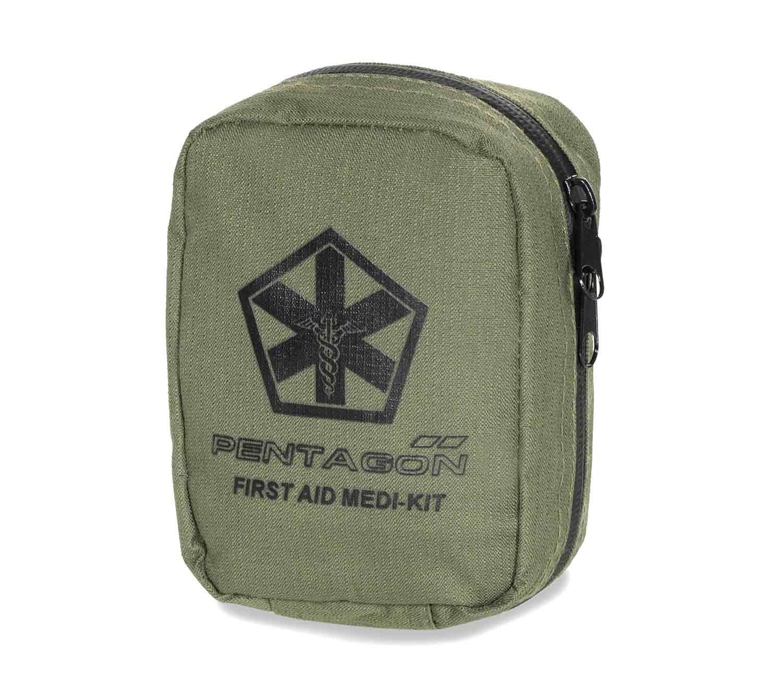 Kit de Primeros Auxilios Pentagon Hippokrates oliva