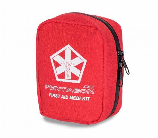 Kit de Primeros Auxilios Pentagon Hippokrates rojo