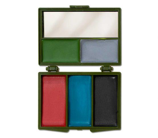 Pintura de Cara Tac Maven 5 Colores Camo completo