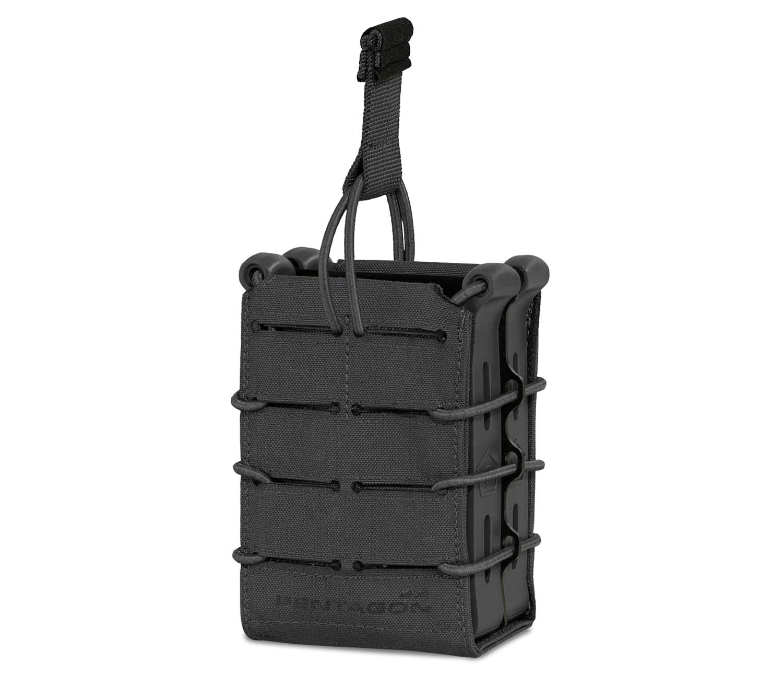 Portacargador Rifle Pentagon Elpis Doble Negro